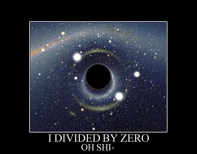 黒い狼: Divide by zero: http://kuroiookami.blogspot.com/2008/12/blog-post_3810.html