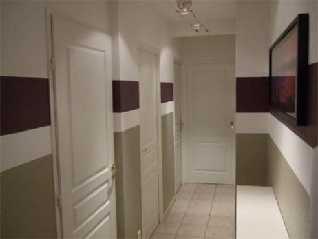 Conseil d co couloir - Peindre couloir deux couleurs ...