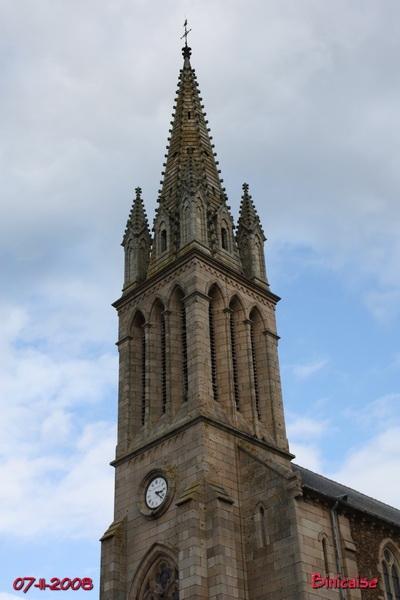 St Quay Portrieux. Eglise Saint Quay. dans Bretagne art_re12