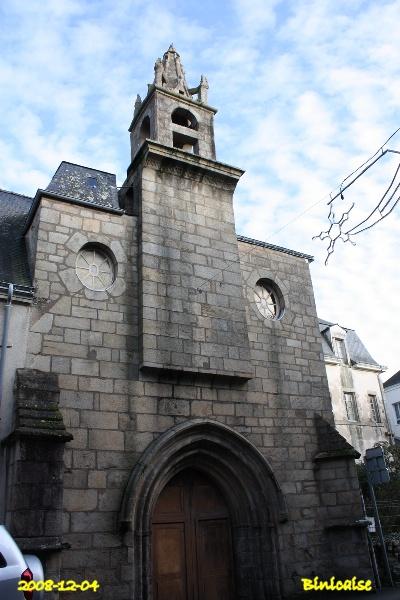 Chapelle Sainte Hélène et Hotel Dieu. dans Bretagne chapel18