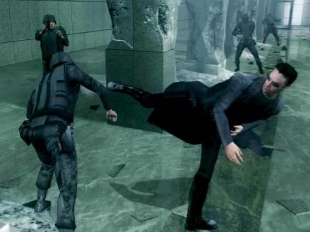 افتراضي أحدث أصدار الاسطورة The Matrix: Path Neo 500Mb بمساحة