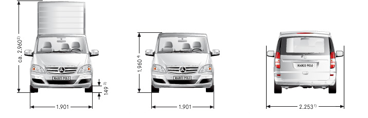 dimension garage vito mercedes dimensions. Black Bedroom Furniture Sets. Home Design Ideas