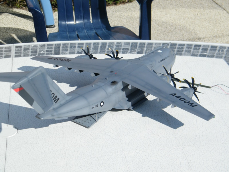 REVELL,maquette,avion,04800,Ai rbus,A400M,grizzly,1/72