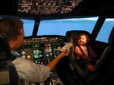 bebe avion a partir de quel age