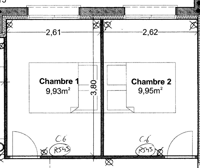 dimension standard chambre a coucher design de maison. Black Bedroom Furniture Sets. Home Design Ideas