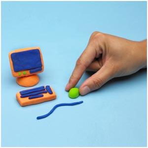 2610 أفكار رائعه للأطفال لأعمال يدويه بالصلصال
