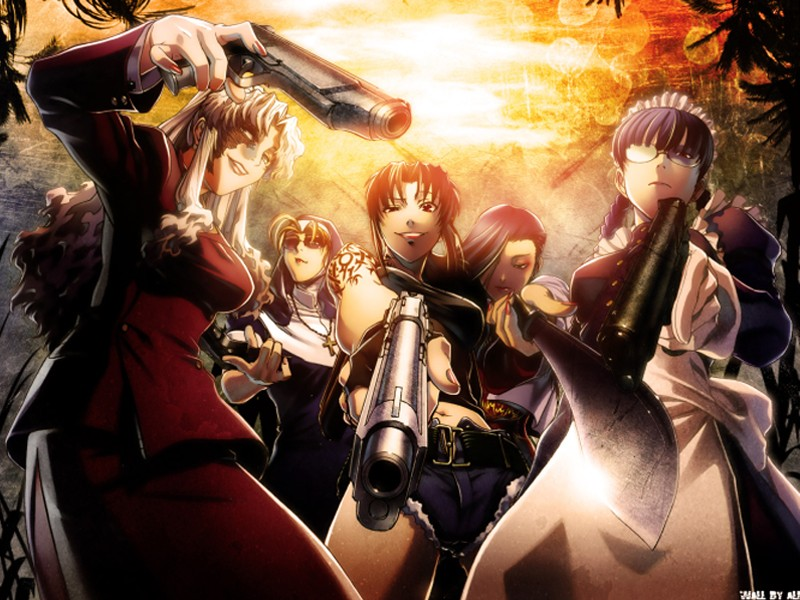 Re: Black Lagoon Wallpapers