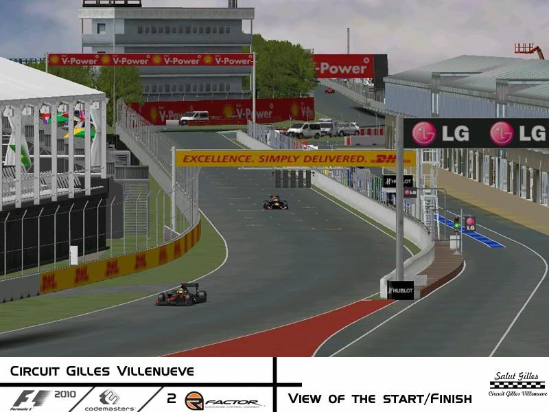 rFactor Track Conversion - F1 2010 Codemasters Circuit