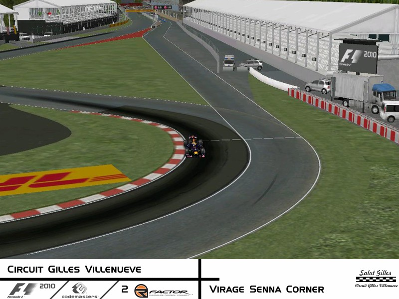 rFactor Track Conversion - F1 2010 Codemasters Circuit Gilles