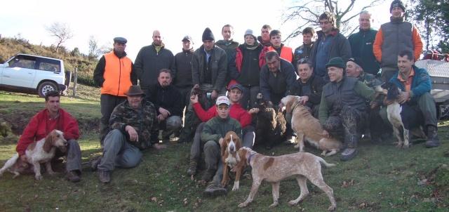 cuadrilla de caza
