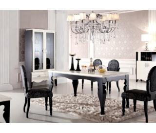 Décoration salle à manger baroque