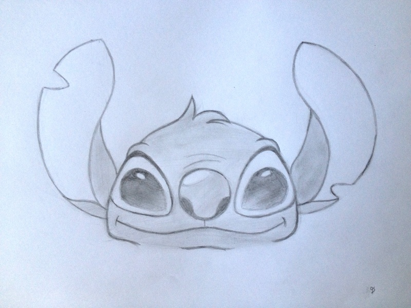 Comment dessiner stitch - Dessin de stitch ...
