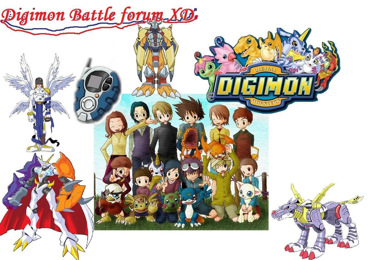Digimon Battle Forum XD