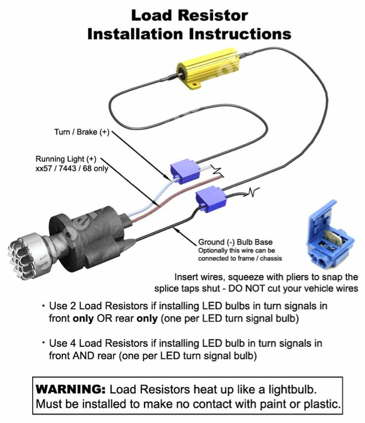 led load equalizer wiring diagrams