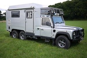 Land Rover Defender 170 6x6 Camper