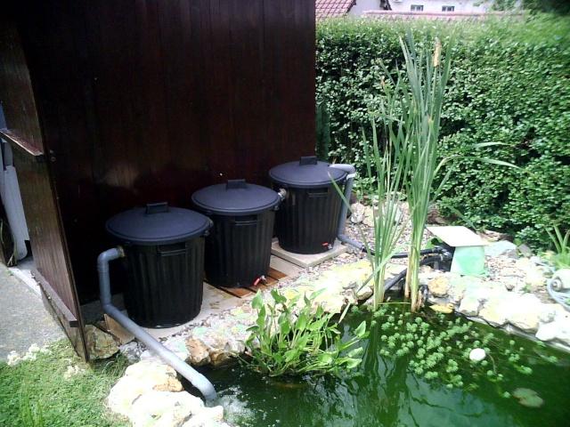 Le bassin de vincent - Filtre bassin maison ...