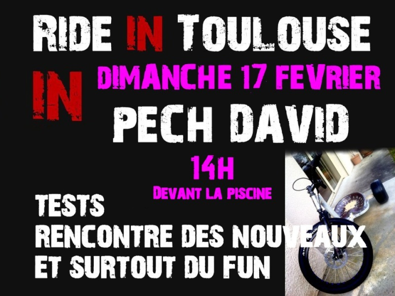 Ride in toulouse 17 02 13 - Piscine toulouse pech david ...