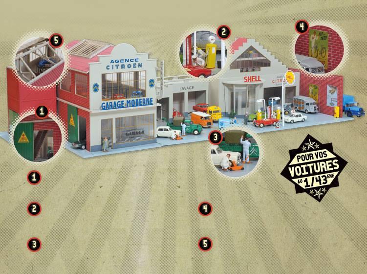 garage miniature. Black Bedroom Furniture Sets. Home Design Ideas