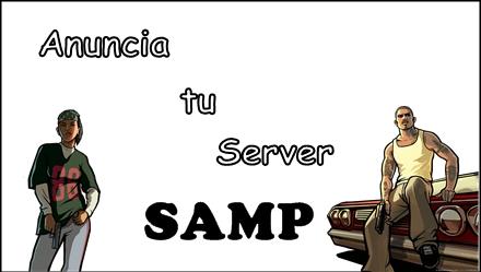 Anuncia tu server SAMP.