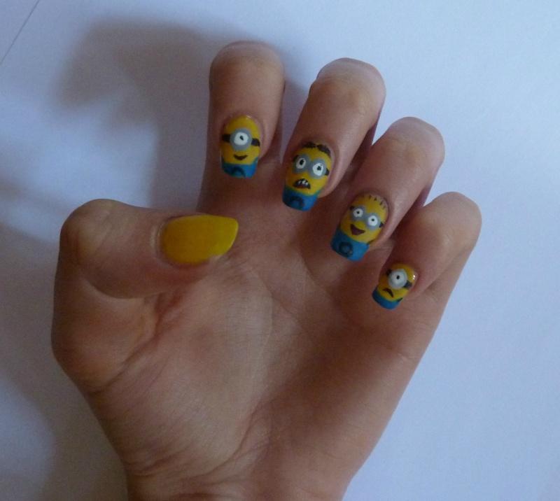 Nail Art Disney Par Felindra