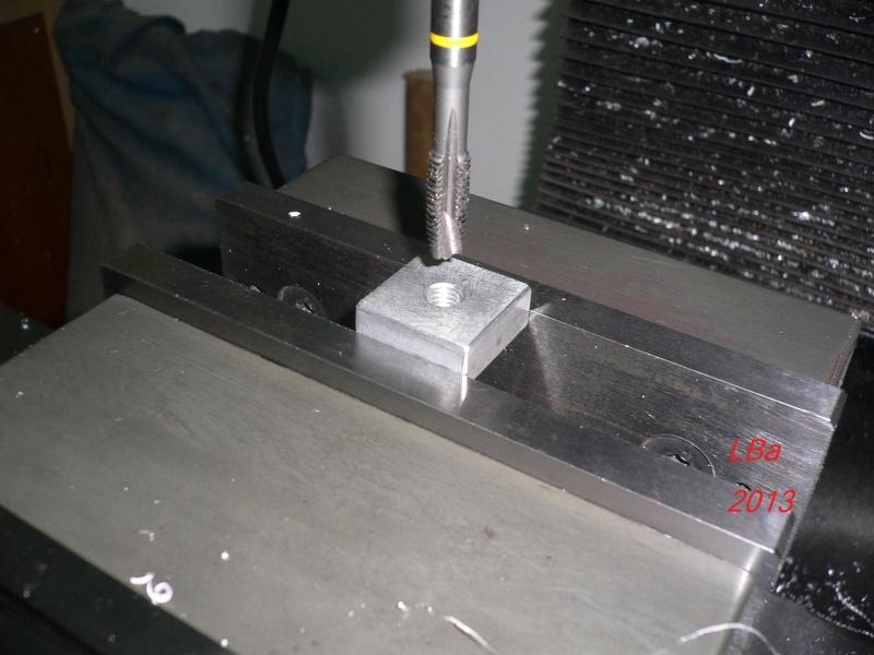 perçage blocage outil