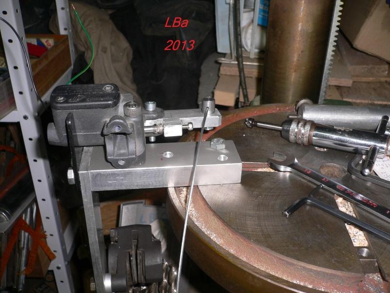 montage de l'arret cable