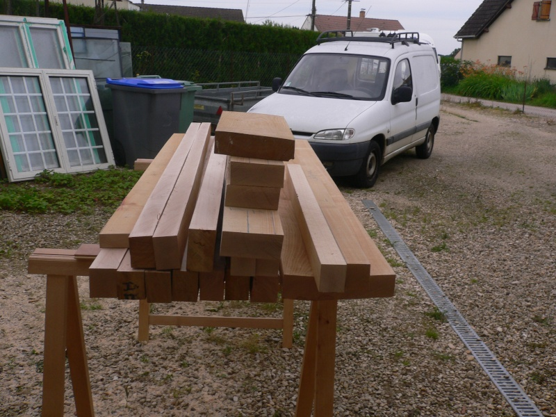 délignage du bois effectué