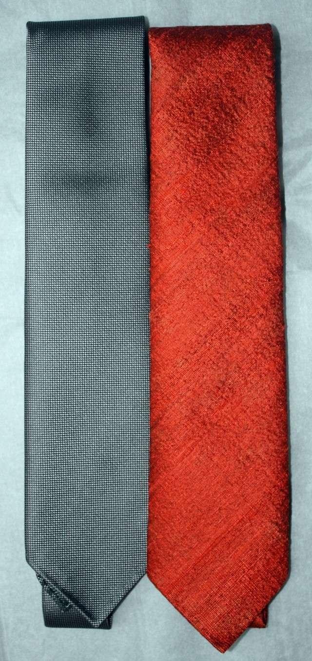 Cravate qui change de couleur - Changer de couleur tricot ...