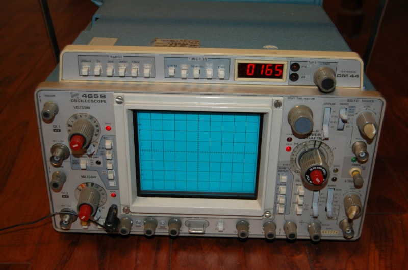 Dual Trace Oscilloscope : Tektronix tek b dual trace mhz ch oscilloscope