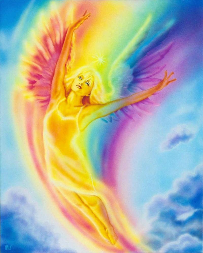 Ange Arc En Ciel