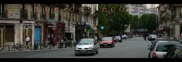 Rue des école