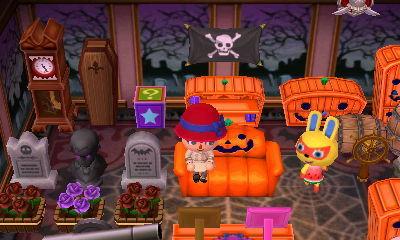 Halloween - animal crossing (3DS)par Tanguyyy