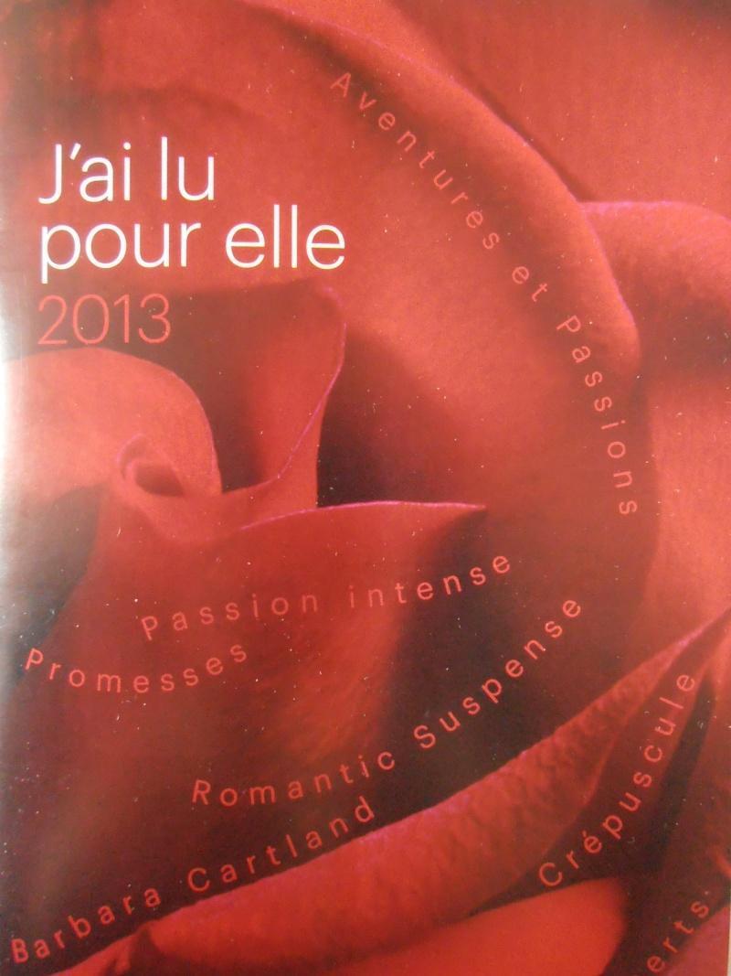 Sorties J Ai Lu Pour Elle 2013
