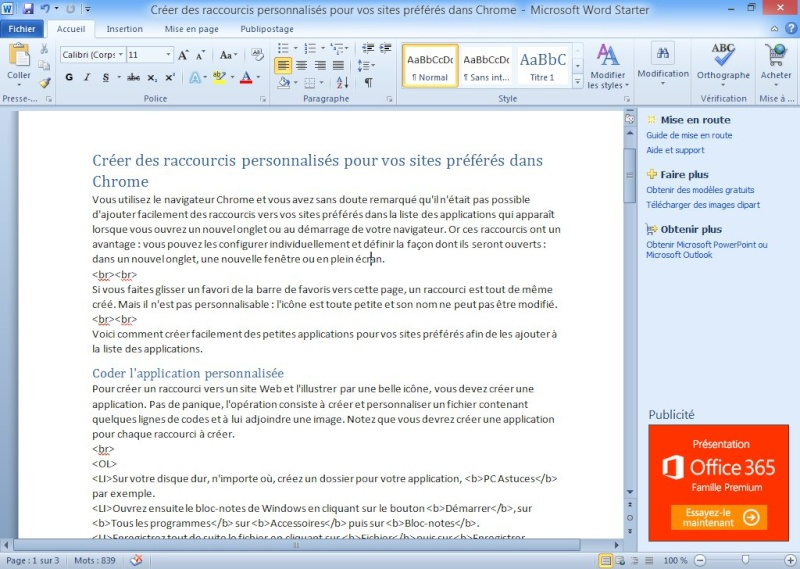 Download free software office 2007 gratuit a telecharger pour vista amberbackuper - Telecharger pack office gratuit windows 7 ...