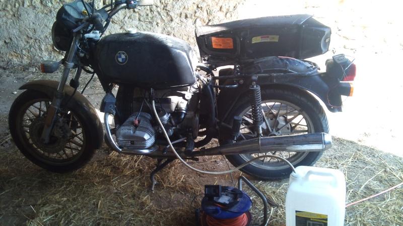 R65 1980 sortie de grange et r surrection for Garage sortie de grange quesnoy sur deule