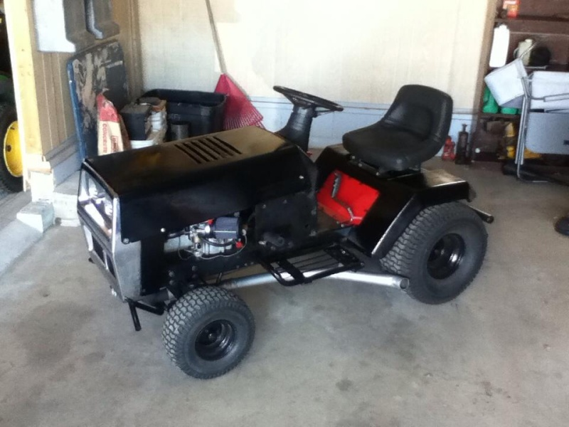 Murray Racing Mower : Racing lawn mower tractors car interior design