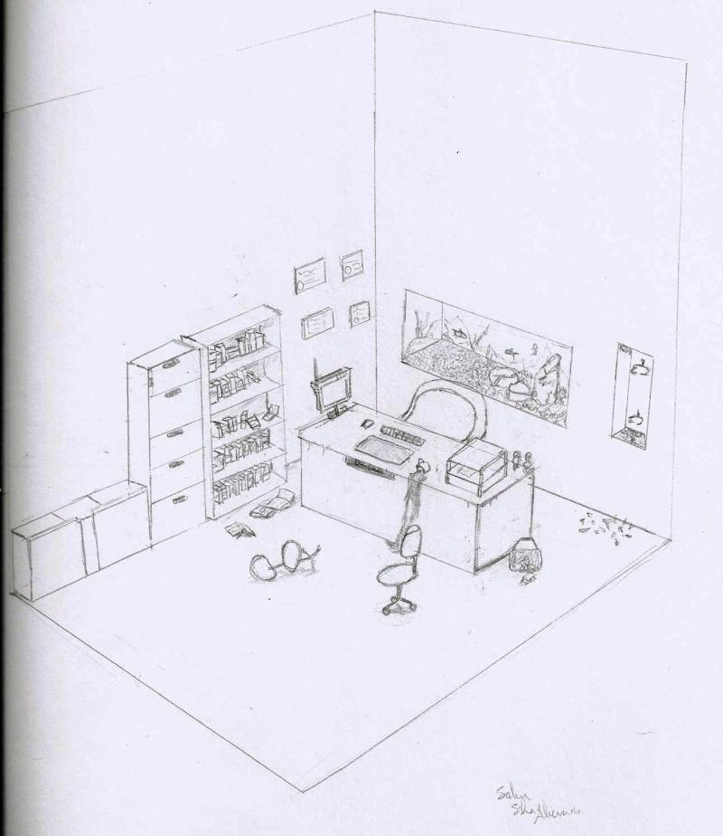 Locker Room Art Perspective Ideas