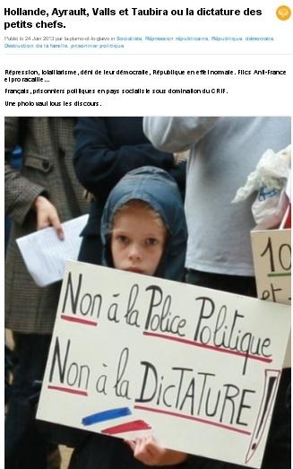 """Police politique"" et ""dictature"""