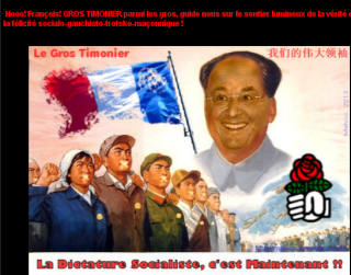 """Dictature socialiste"" et Hollande ""gros timonier"""