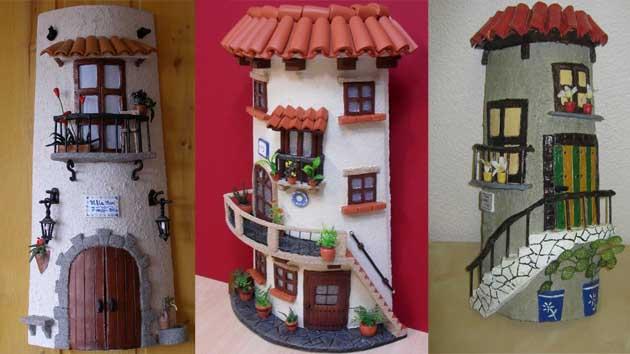 Nuebas tejas decoradas - Manualidades para la casa recicladas ...